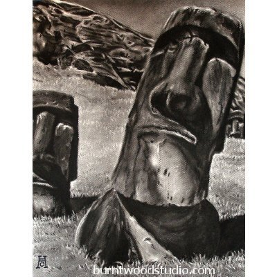 Click to view full size image: Easter Island Heads