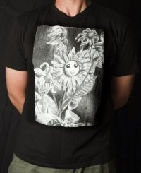 Plastic Flowers Smile Forever T-Shirt